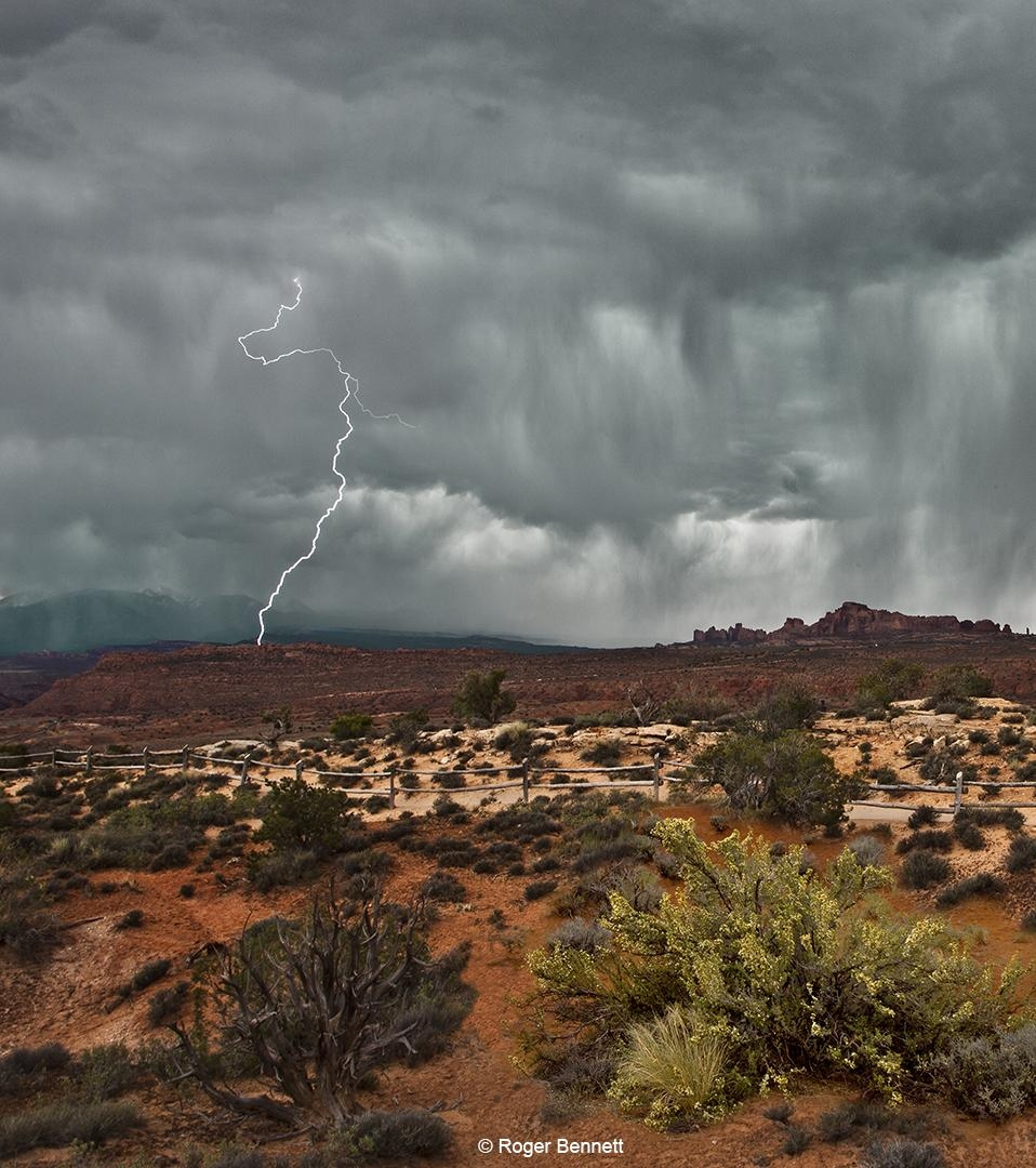 Lightning, Arches National Park, UT