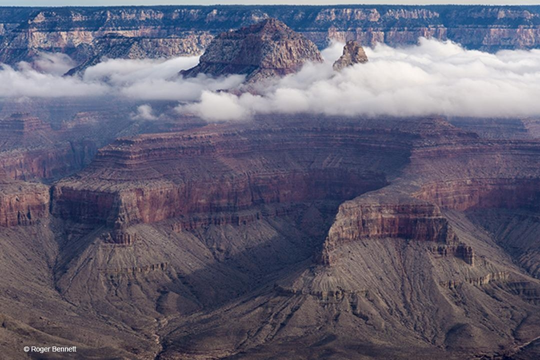 Through the Clouds, Grand Canyon National Park, AZ